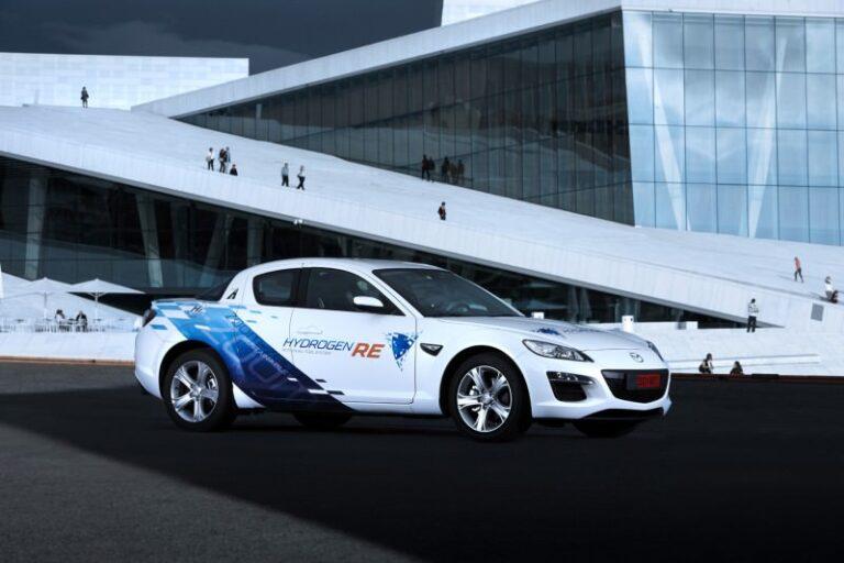 18 ani de cercetare Mazda pe hidrogen - AUTOLATEST