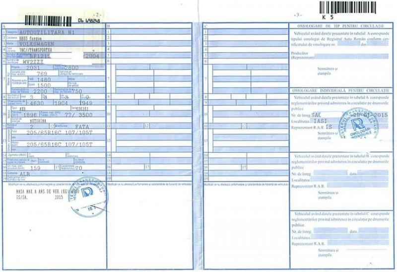 dating certificat pentru un vehicul