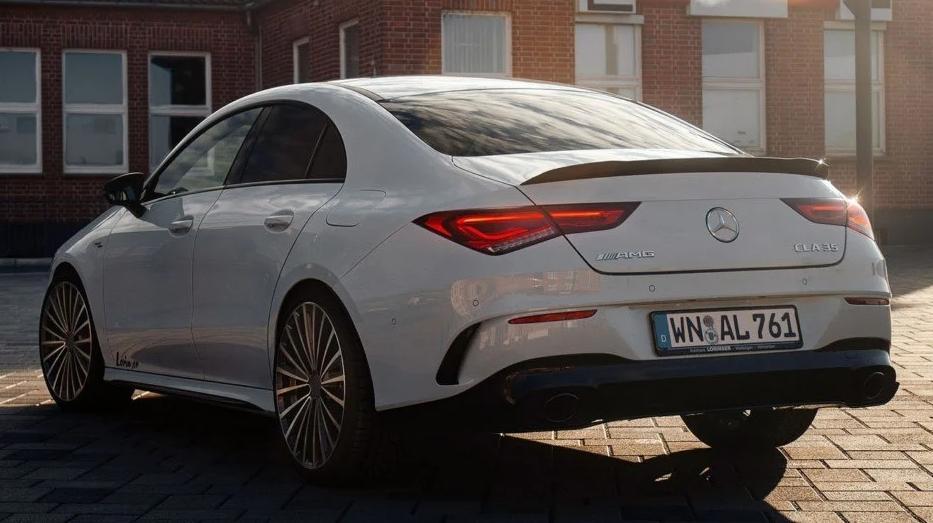 Lorinser Mercedes-AMG CLA 35 4MATIC 2021, imagini Lorinser Mercedes-AMG CLA 35 4MATIC 2021, motor Lorinser Mercedes-AMG CLA 35 4MATIC 2021, pret Lorinser Mercedes-AMG CLA 35 4MATIC 2021, review Lorinser Mercedes-AMG CLA 35 4MATIC 2021