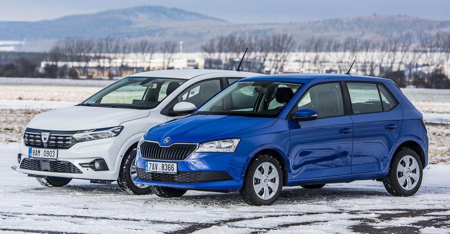 Dacia Sandero 1.0 SCe vs Skoda Fabia 1.0 MPI 2021, test drive sandero 2021, fabia vs sandero 2021, dacia 1.0 sce vs skoda 1.0 mpi, gpl fabia 1.0 npi, fabia invinsa de sandero