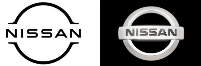logo nou nissan, sigla noua nissan, probleme nissan romania, design emblema nissan 2021