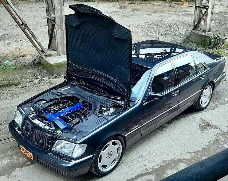 Carlsson W140 C74 V12 M120 555 cp, autolatest Carlsson W140 C74 V12 M120 555 cp ,pret , test drive tuning Carlsson W140 C74 V12 M120 555 cp, review , 0-100 km/h