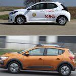 Toyota Yaris 1.0 VVT-i 53 kW vs Dacia Sandero Stepway 1.0 TCe, drive test yaris 2021, test drive yaris 2021, toyota yaris 2021 masina anului, probleme motor 1.0 yaris 2021, 0-100 km/h yaris 2021, consum mare Toyota Yaris 1.0 VVT-i 53 kW vs Dacia Sandero Stepway 1.0 TCe, review Toyota Yaris 1.0 VVT-i 53 kW vs Dacia Sandero Stepway 1.0 TCe