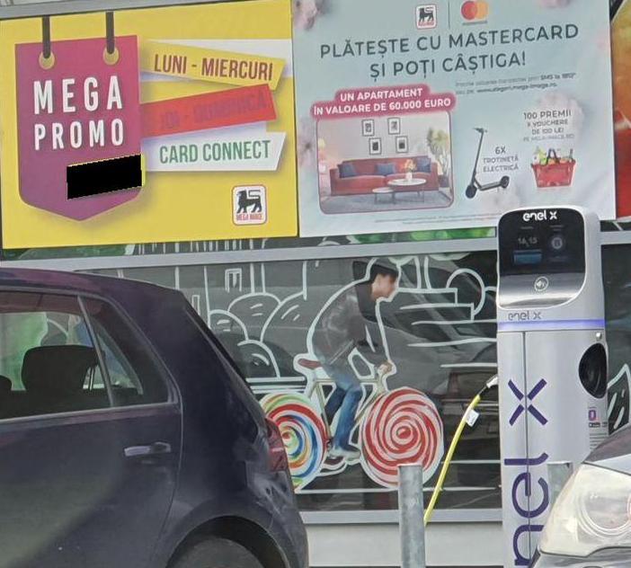 Enel X si Mega Image 2021, statii incarcare Enel X si Mega Image, probleme Enel X si Mega Image, typ 2 22 kwh Enel X si Mega Image, timp incarcare, pret enelx 1 kwh, parcare masini ev Enel X si Mega Image, parteneriat Enel X si Mega Image