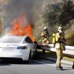 acces interzis gpl, probleme masini electrice, incendiu masini electrice, siguranta masini ev accident, probleme incendiu masini ev, accident masina electrica incendiu