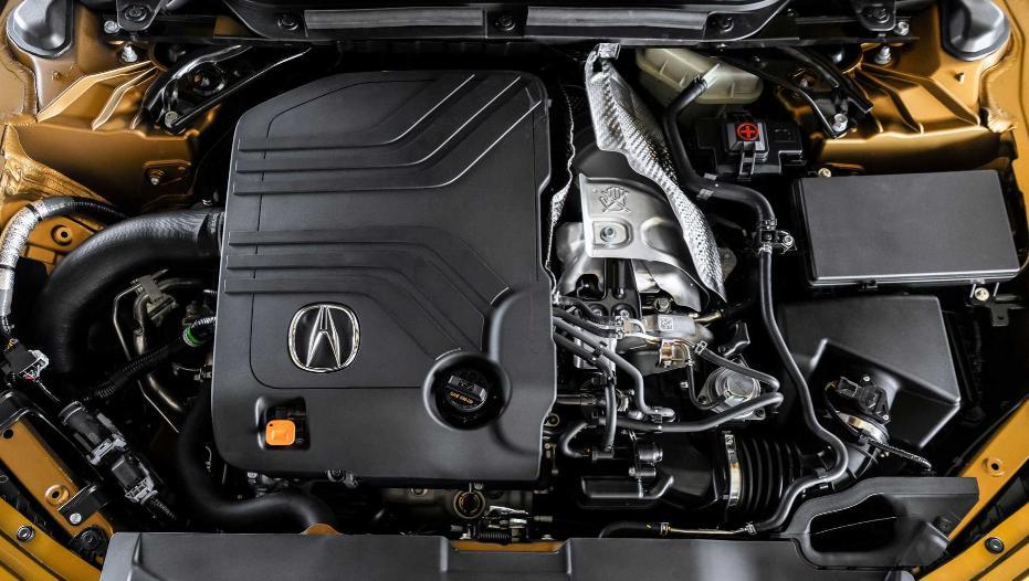 Acura TLX Type S 2022, motor v6 turbo vtec, new Acura TLX Type S turbo v6, detalii honda v6 3.0 turbo 355 cp, pistoane forjate honda v6 vtec 202`