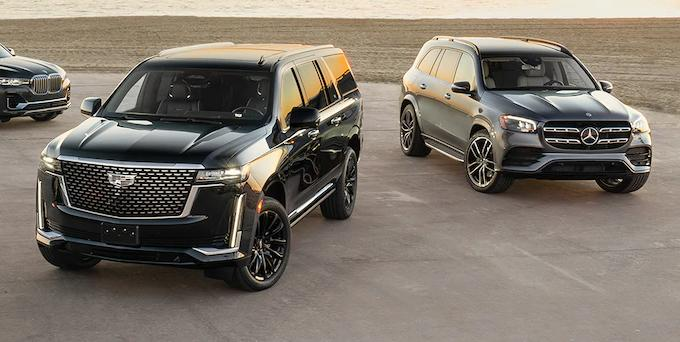 Cadillac Escalade 2021, bmw x7 vs Cadillac Escalade 2021, mercedes gls vs Cadillac Escalade 2021, pret Cadillac Escalade 2021, test drive Cadillac Escalade 2021