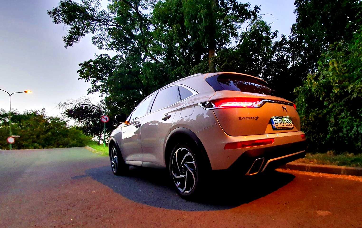 DS 7 Crossback E-Tense 4X4 Grand Chic Opera Mistral 1.6 PHEV AWD 300 CP e-EAT8 2021, test drive, drive test, ds7 autolatest, testeauto ds7 etense 4x4, autonomie, pret discount, review, 0-100 km/h, date tehnice, consum bucuresti